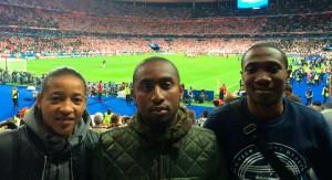 Le FCB en représentation au stade de France