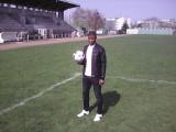 Almamy en visite au Stade du Bourget