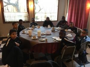 Nos U11 de nouveau en déplacement à Beaucaire (30)