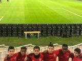 Nos U11 en vadrouille à Lyon