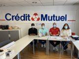 Crédit Mutuel, nouveau partenaire du club